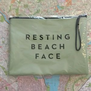 Milly Resting Beach Face Makeup Bag
